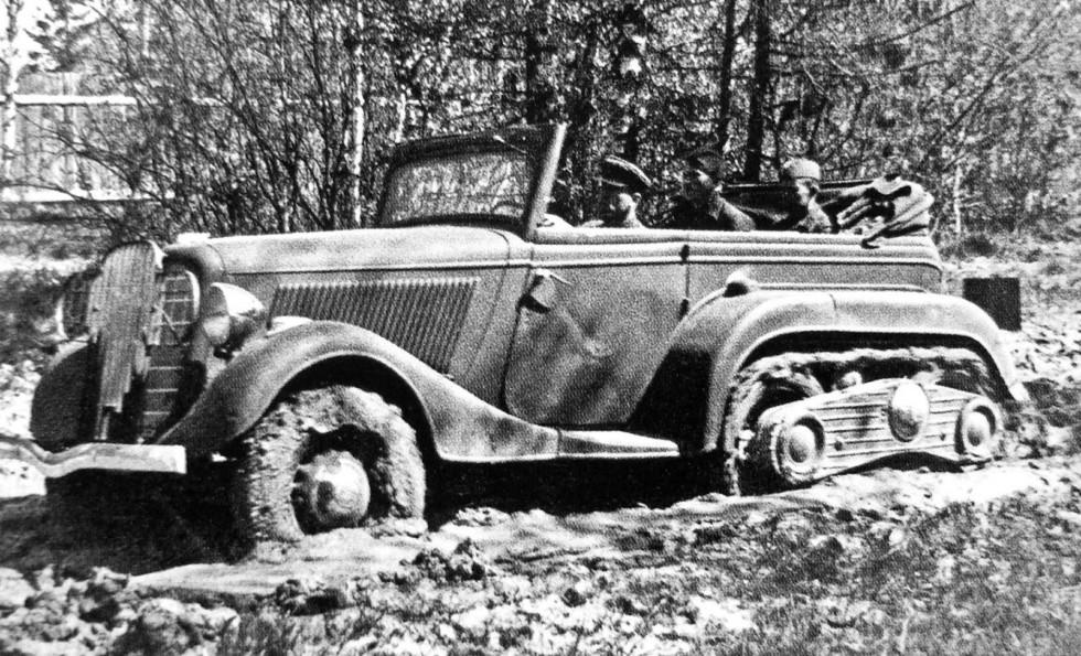 армейские легковушки СССР 17