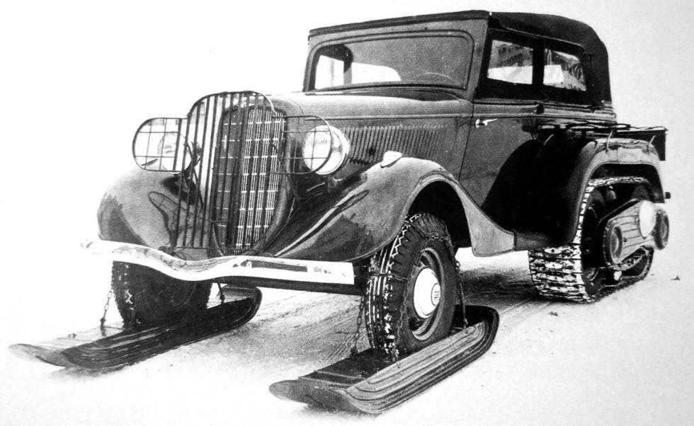 армейские легковушки СССР 18