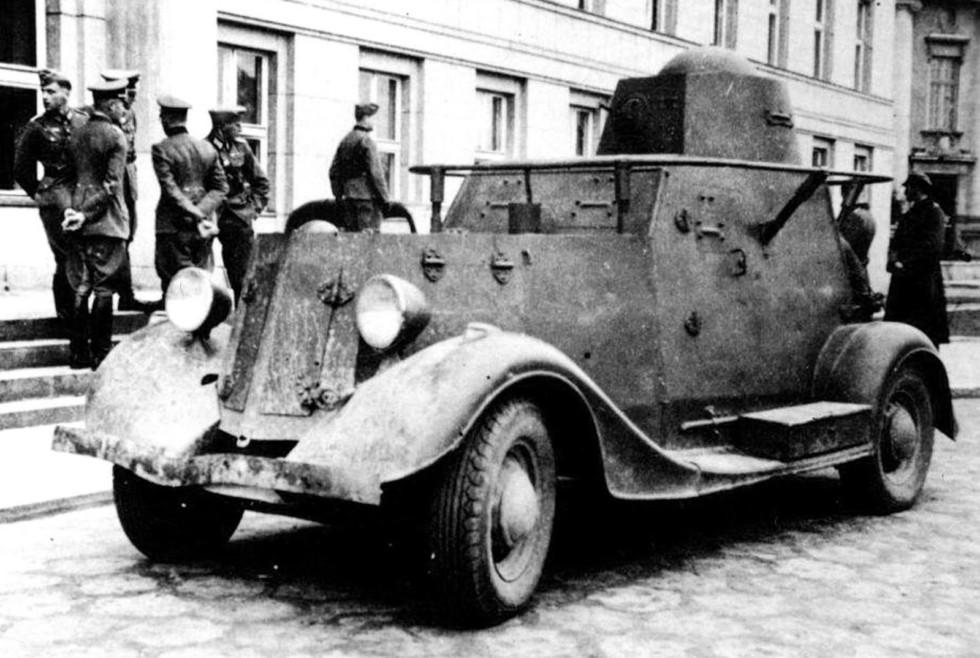 армейские легковушки СССР 21