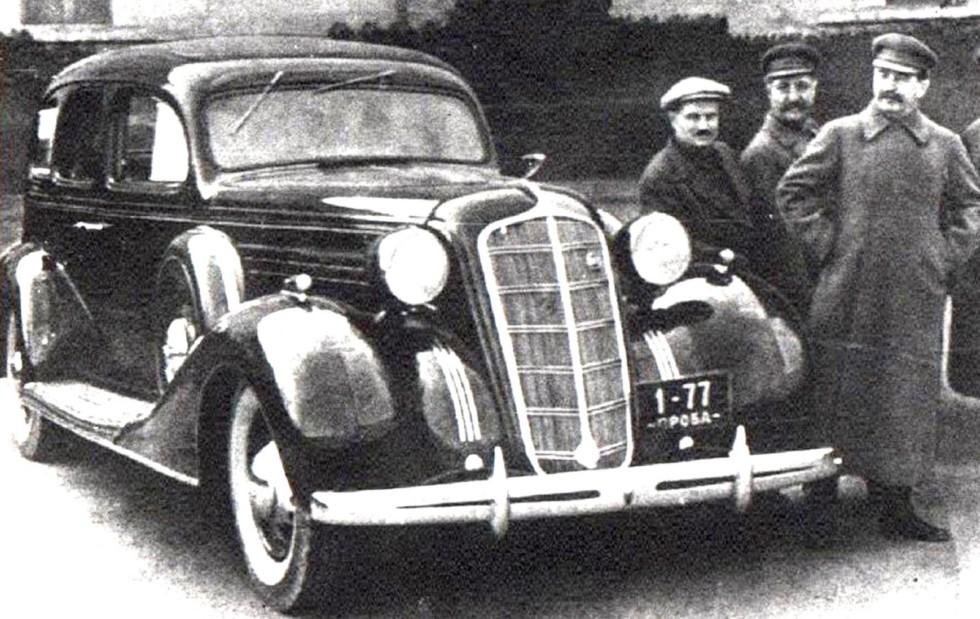 армейские легковушки СССР 25