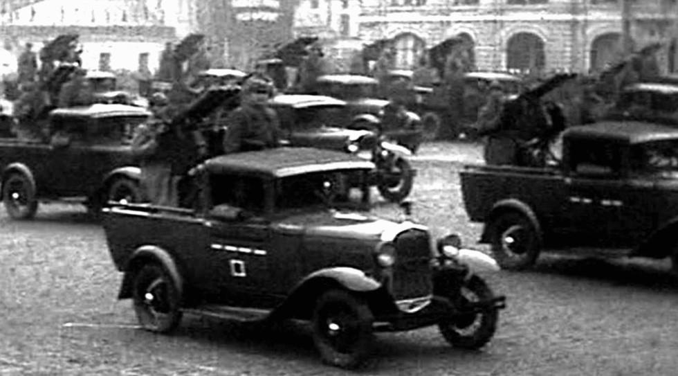 армейские легковушки СССР 6