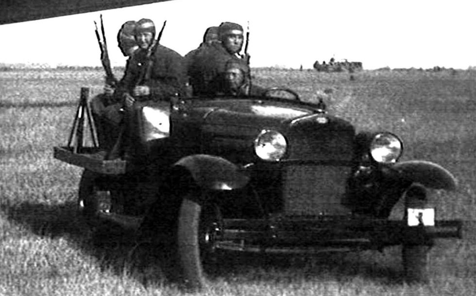 армейские легковушки СССР 8
