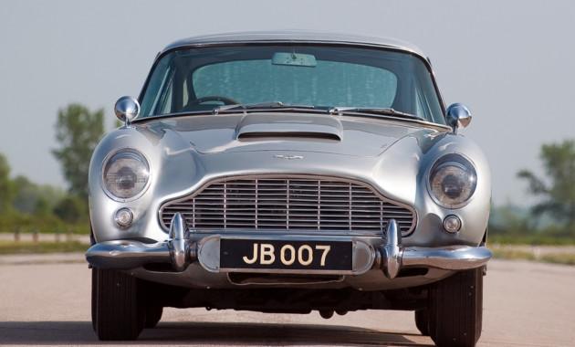 Астон Мартин сделает 25 спорткаров DB5 изфильма оДжеймсе Бонде