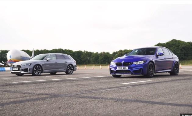 Специалисты сравнили БМВ M3 CS и Ауди RS4 Avant взаезде