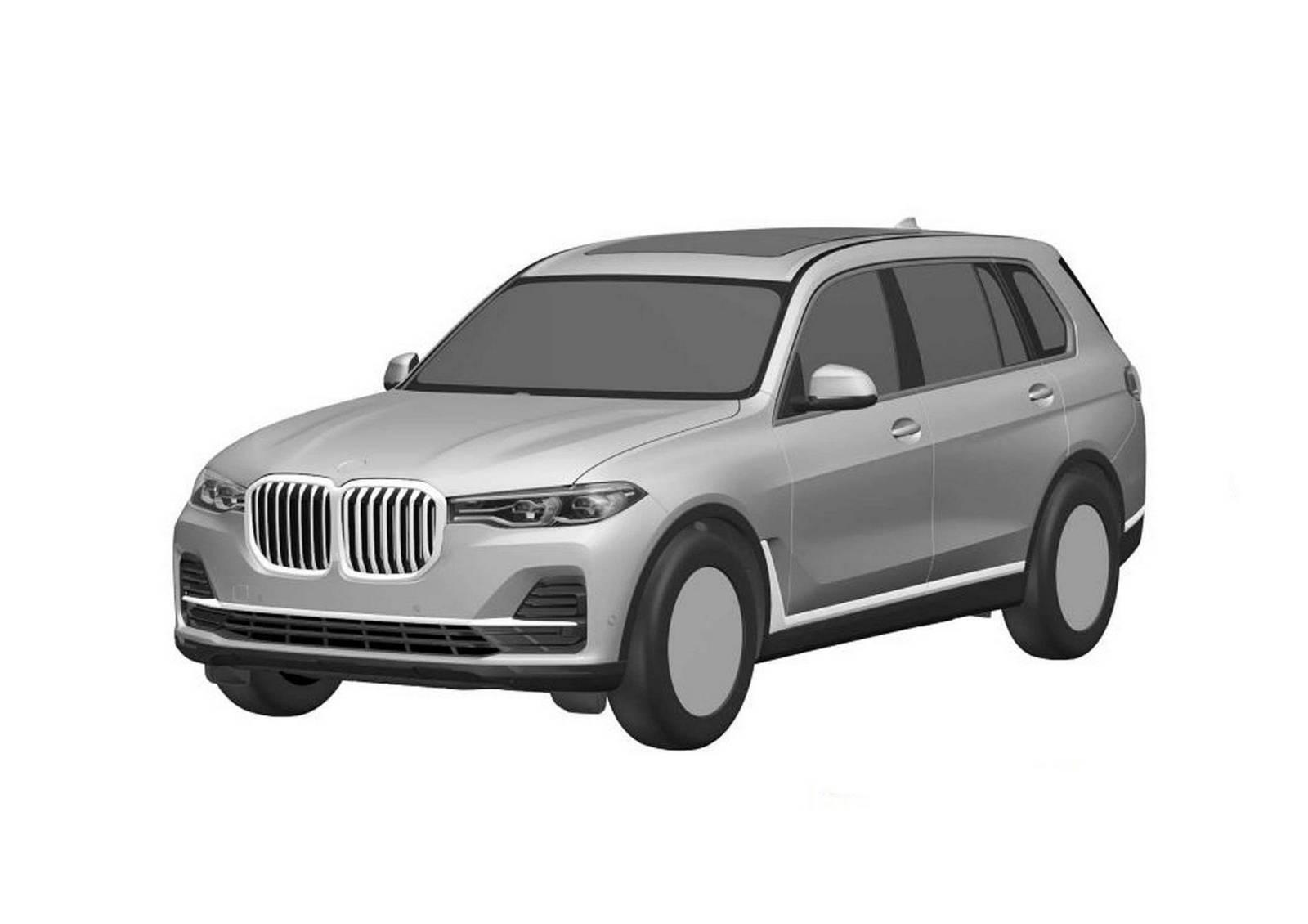 Серийный кроссовер BMW X7 раскрыли до премьеры