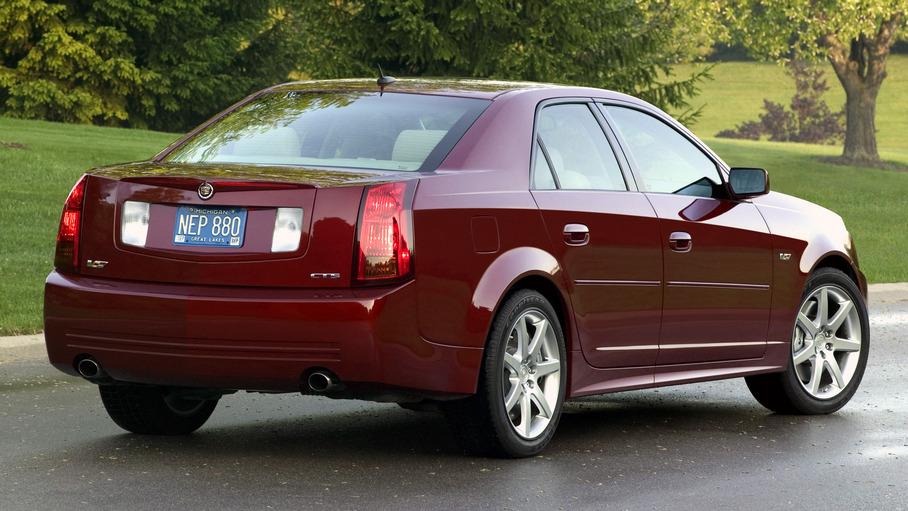 2007 Cadillac CTS-V. X07CA_CT006