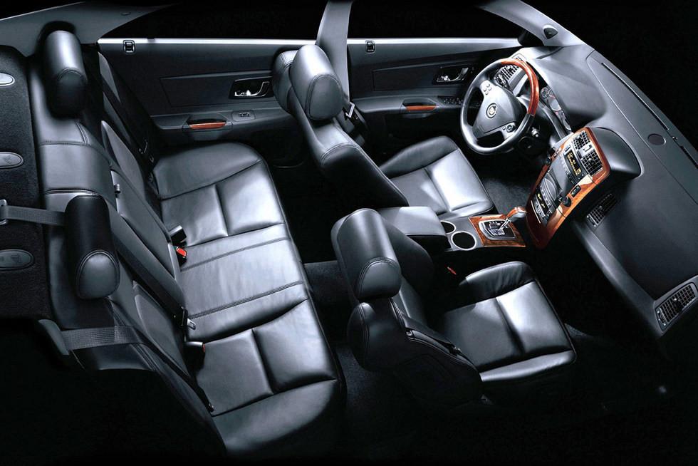 Салон Cadillac CTS '2002–07
