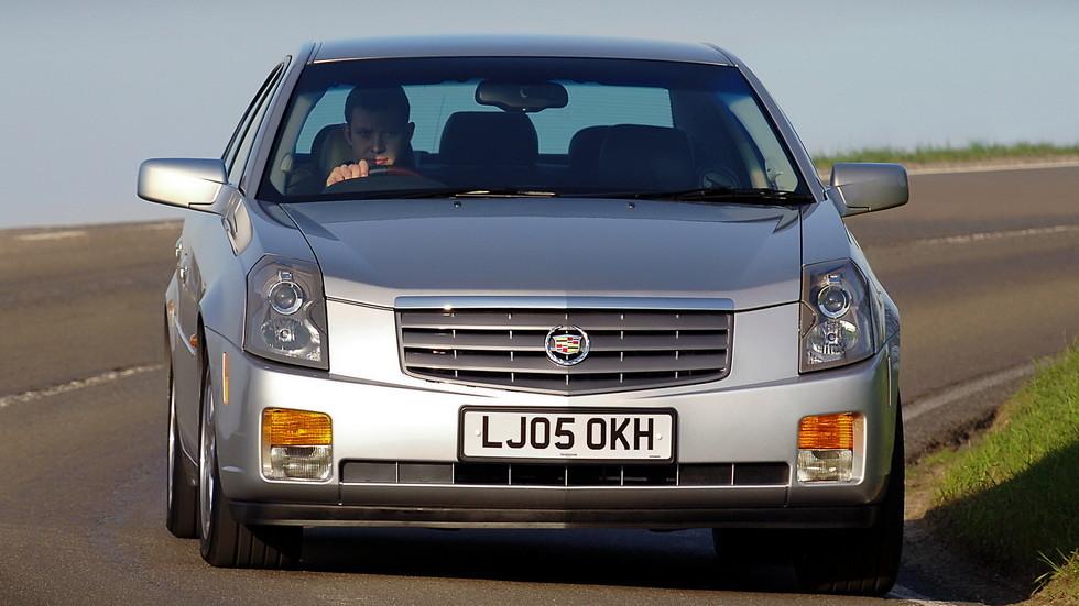 Cadillac CTS '2005–07 для рынка Великобритании