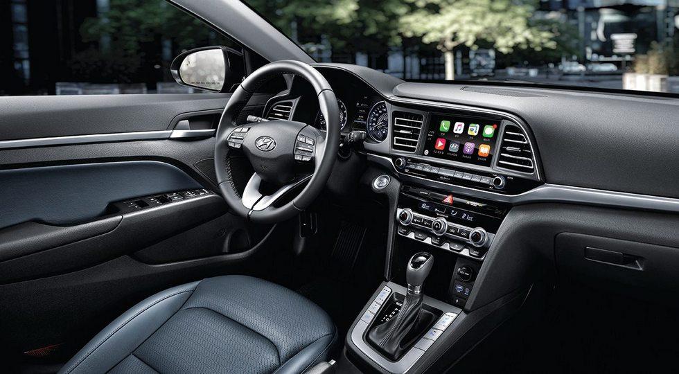 Обновленный седан Hyundai Avante
