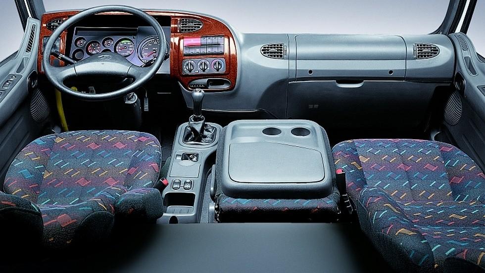 Hyundai hd120 салон