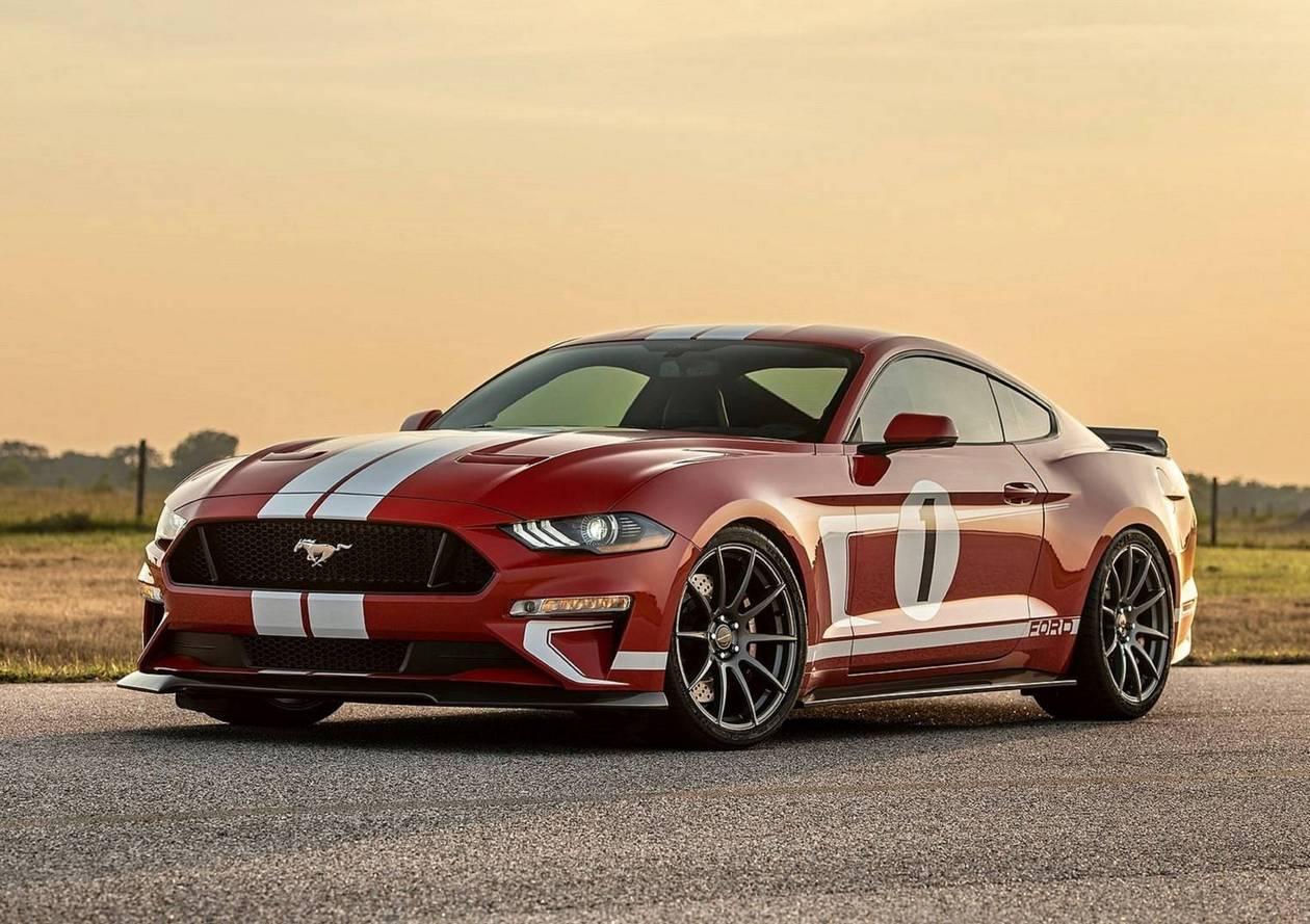 Hennessey выпустит ограниченный тираж 808-сильных Ford Mustang