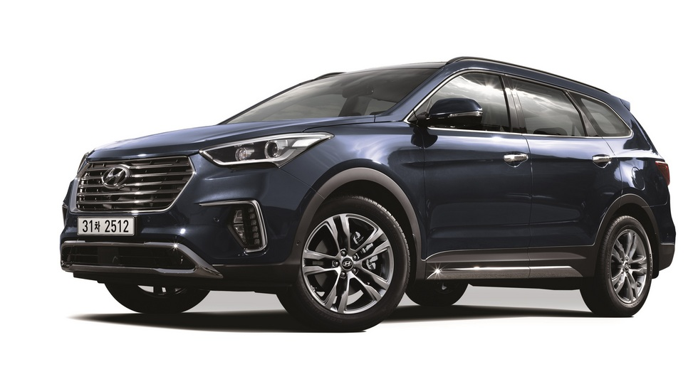 Hyundai Maxcruz для корейского рынка. В других странах - Grand Santa Fe
