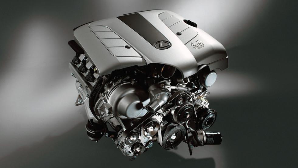 2005 Lexus GS430 3UZ-FE V8 engine.