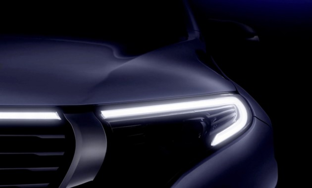 Компания Mercedes показала тизер электрического джипа