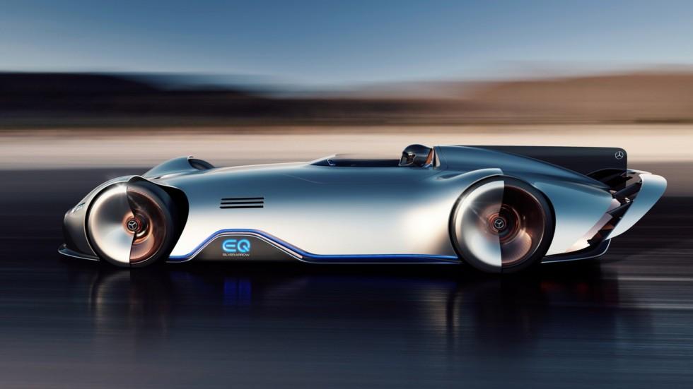 EQ Silver Arrow Show Car