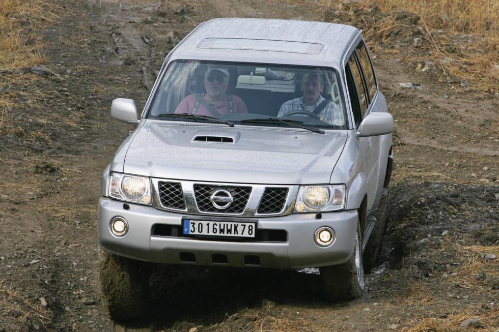 Prasentation NISSAN Patrol-Italien/Sizilien, 02.09.-03.09.2004