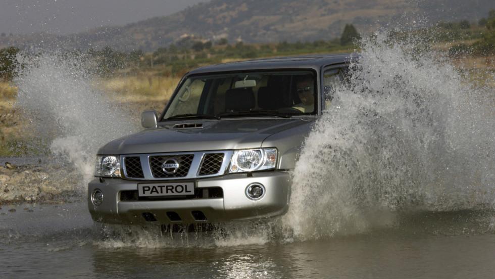 New Nissan Patrol, Sicily 2004.