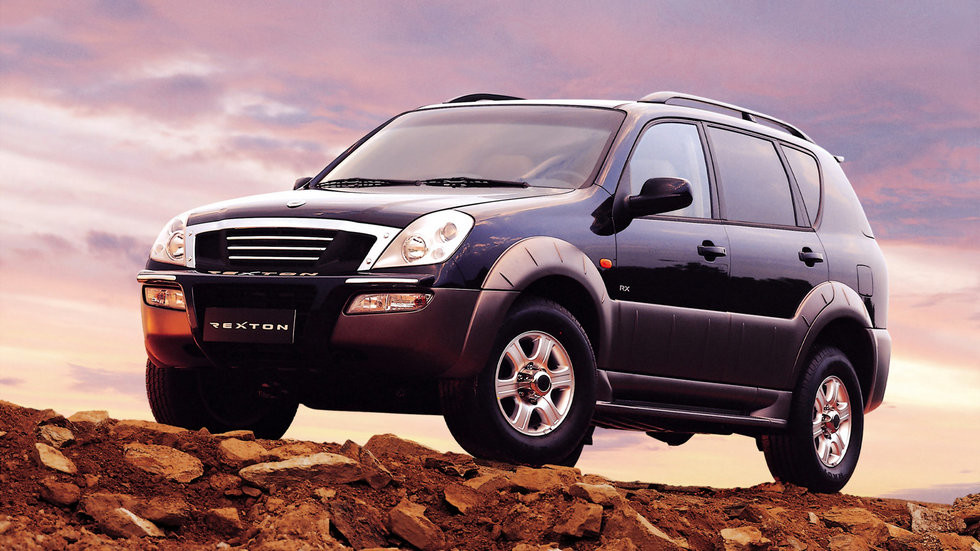 SsangYong Rexton (Y200) '2001–2003