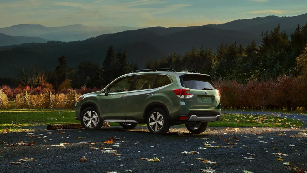 Новый Subaru Forester слегка подорожал