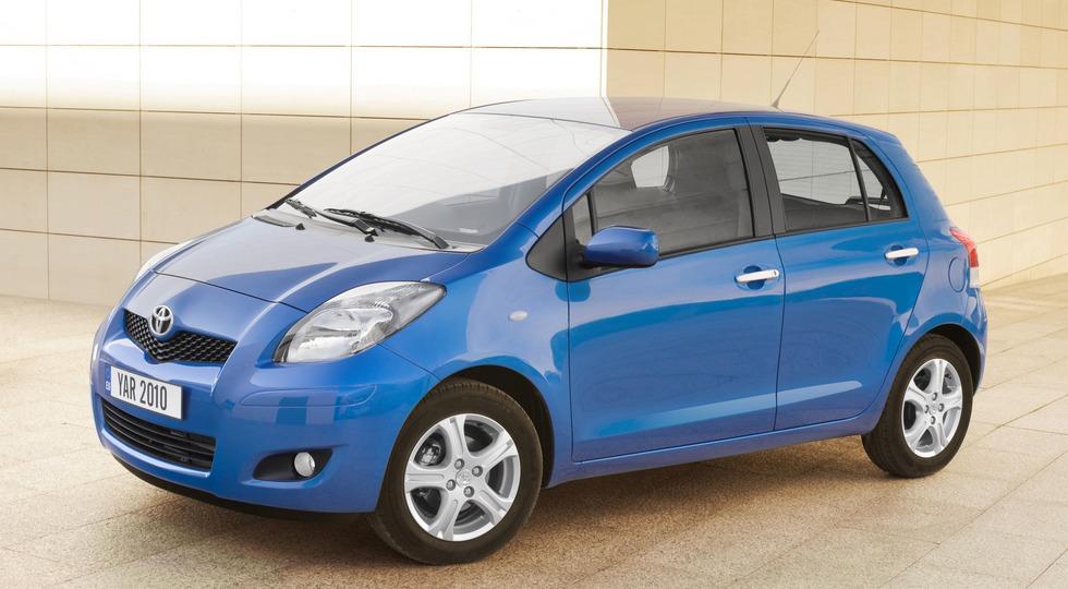На фото: Toyota Yaris'2009–11