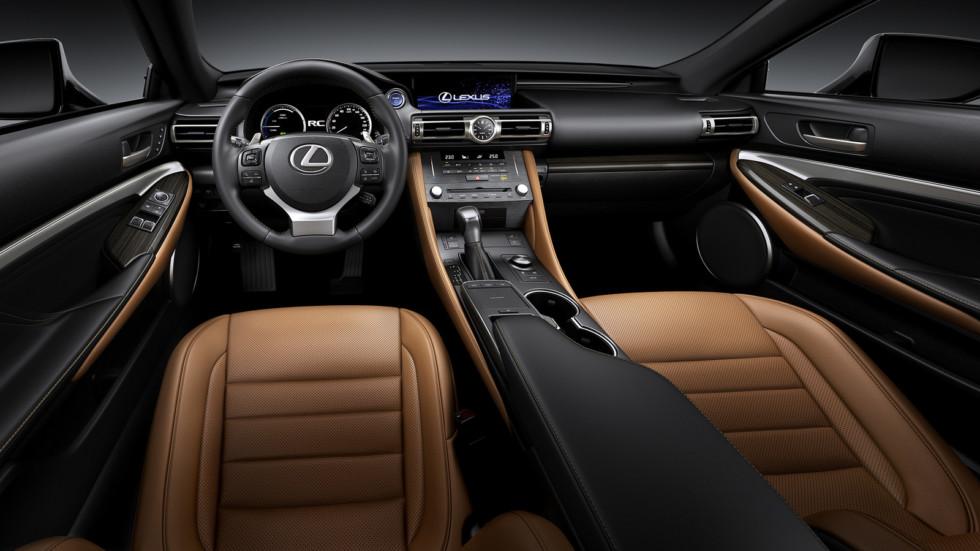 Lexus RC «освежили» внешность в стиле LC