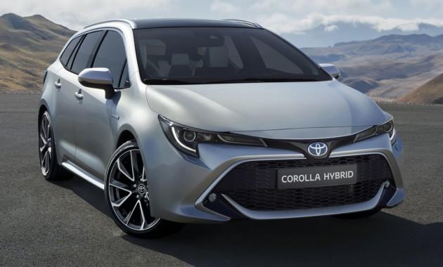 Тоёта представила новейшую Corolla Touring Sports смассивным багажником
