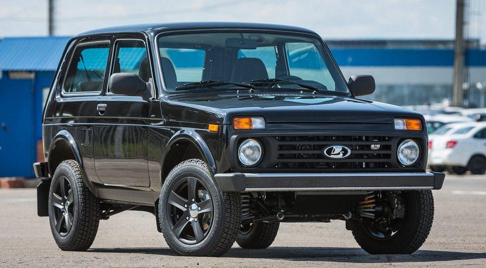 """Трехдверная Lada 4x4 Black Edition. Фото """"пятидверки"""" в этой версии АВТОВАЗ не предоставил"""