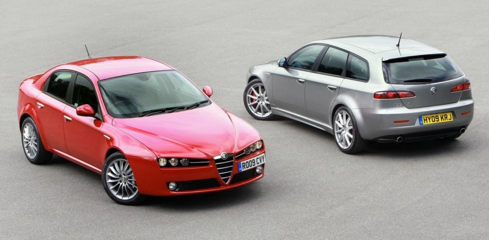 Alfa Romeo 159 3.2 JTS Q4 (939A) '2008-09 & 159 Sportwagon (939B) 2008-11