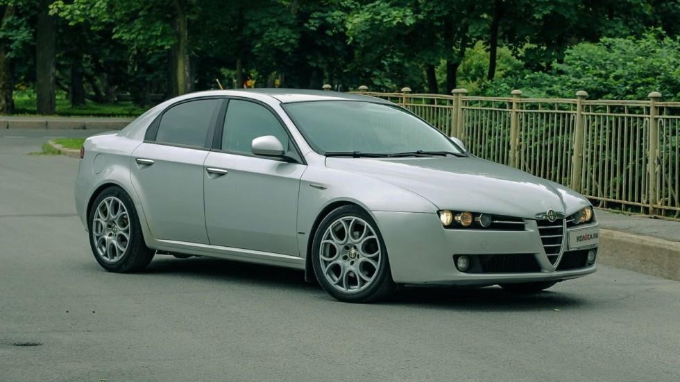 Alfa Romeo 159 три четверти (2)