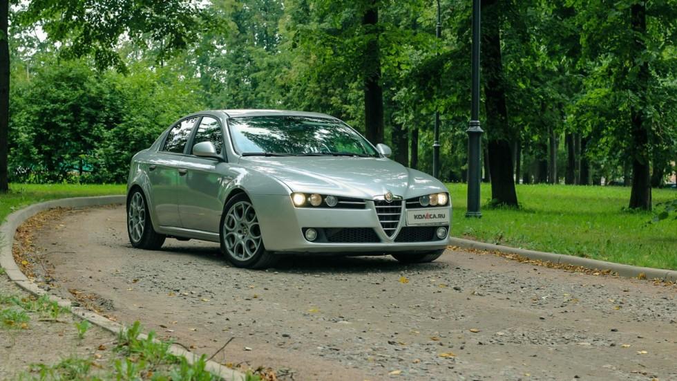 Alfa Romeo 159 три четверти