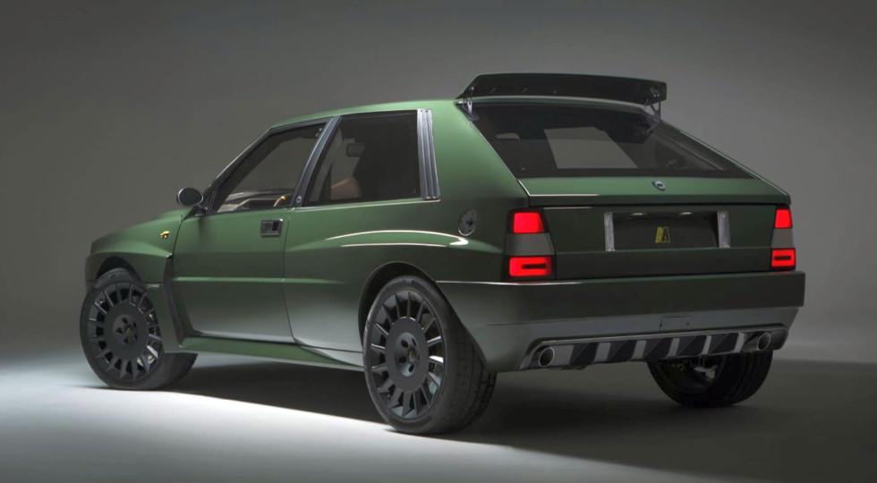 Lancia Delta Futurista: возрожденной легенде 80-х сохранили жигулевскую «приборку»!
