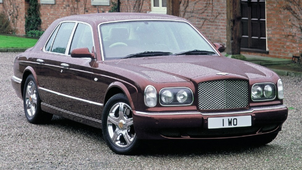 Bentley Arnage Red Label UK-spec '1999–2002