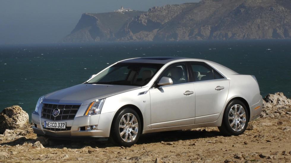 Cadillac CTS Worldwide '2007–11х