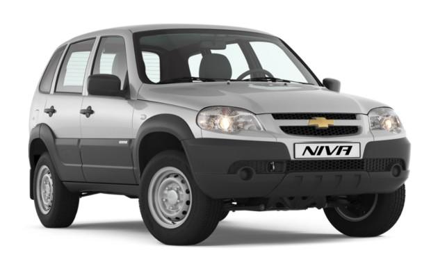 GM-АвтоВАЗ с1октября увеличит цены на Шевроле Niva