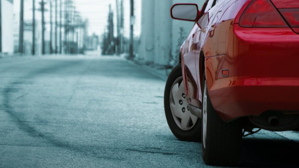 разворот автомобиля