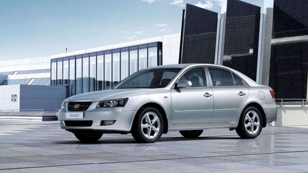 Hyundai Sonata (NF) '09.2004–11.2007