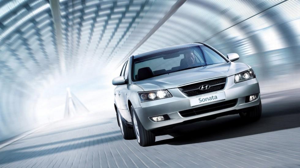 Hyundai Sonata (NF) '09.2004–11.2007б
