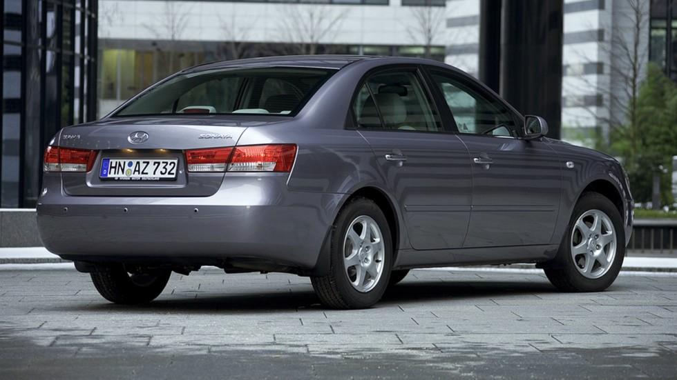 Hyundai Sonata (NF) '09.2004–11.2007ч