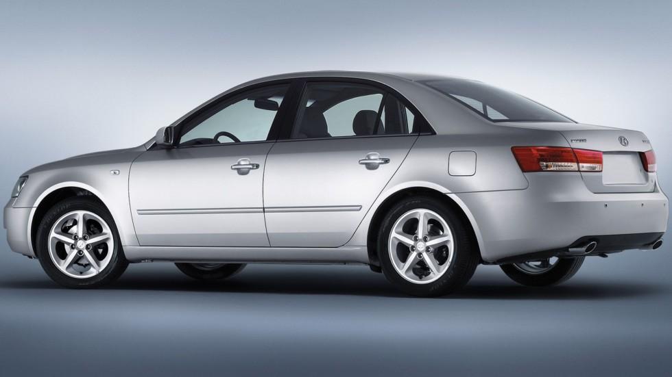 Hyundai Sonata (NF) '09.2004–11.2007г