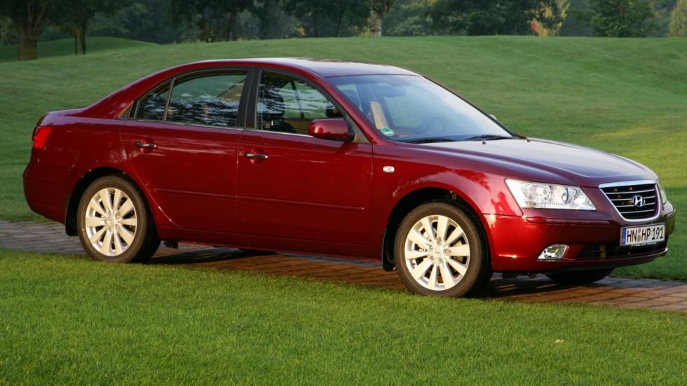 Hyundai Sonata (NF) '11.2007–09.2009ч