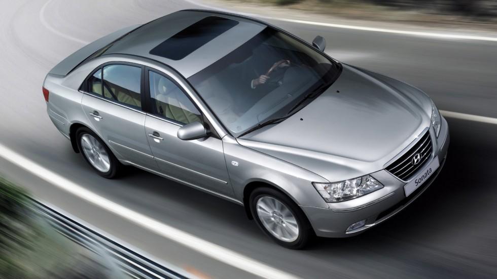 Hyundai Sonata (NF) '11.2007–09.2009я