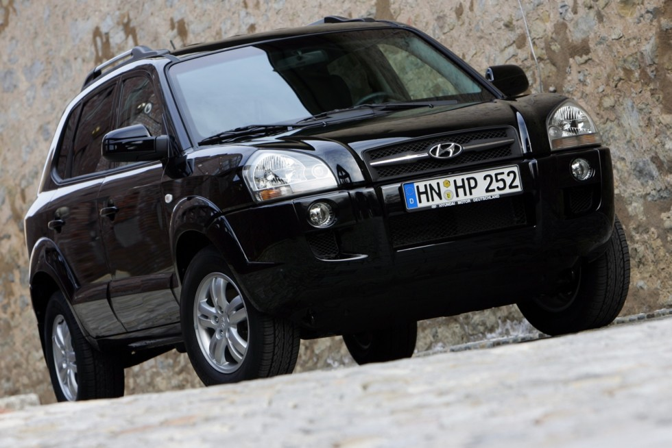 Hyundai Tucson Worldwide '2004–09