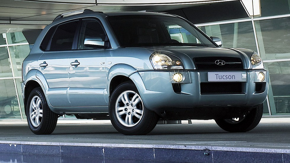 Hyundai Tucson Worldwide '2004–09ч