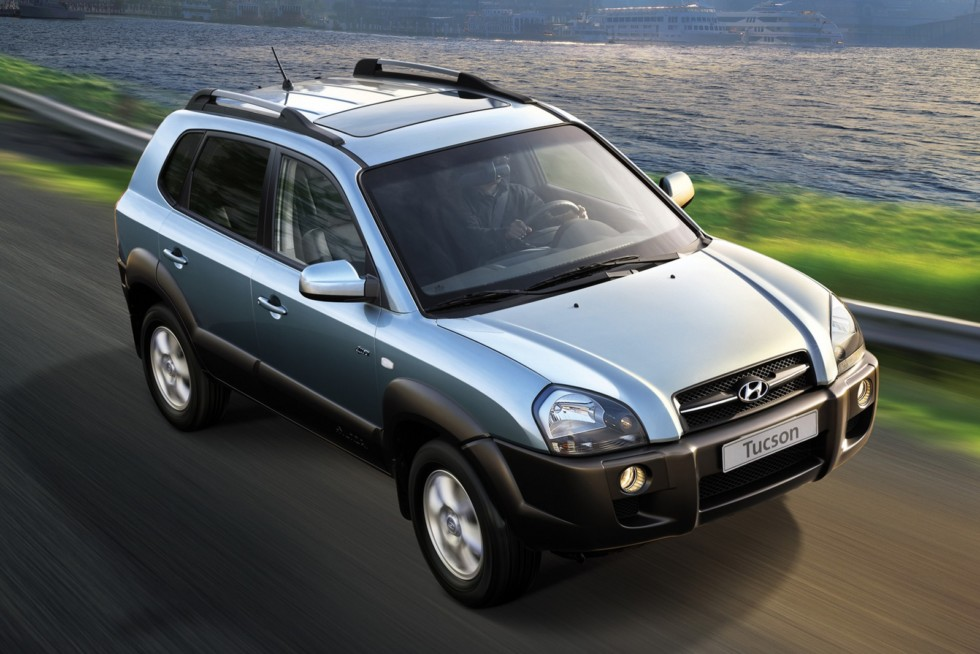 Hyundai Tucson Worldwide '2004–09яс