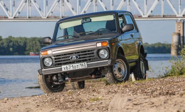 Наиболее популярный вседорожный автомобиль РФ - Лада 4x4 «Нива»