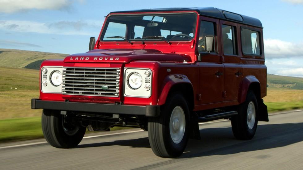 Land Rover Defender 110 Station Wagon Worldwide '2007–н.в.