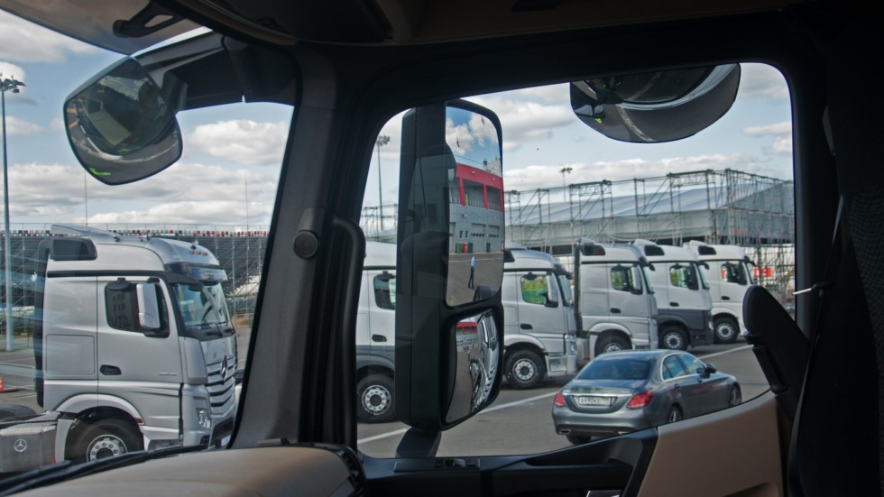 Mercedes-Benz Actros зеркала (2)