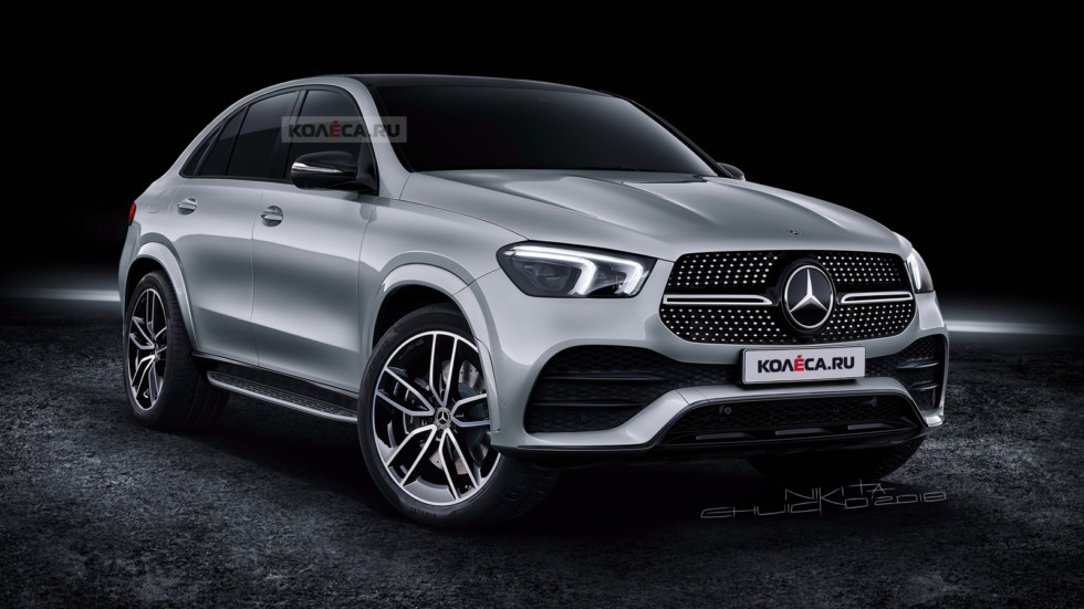Mercedes-Benz GLE Coupe front1