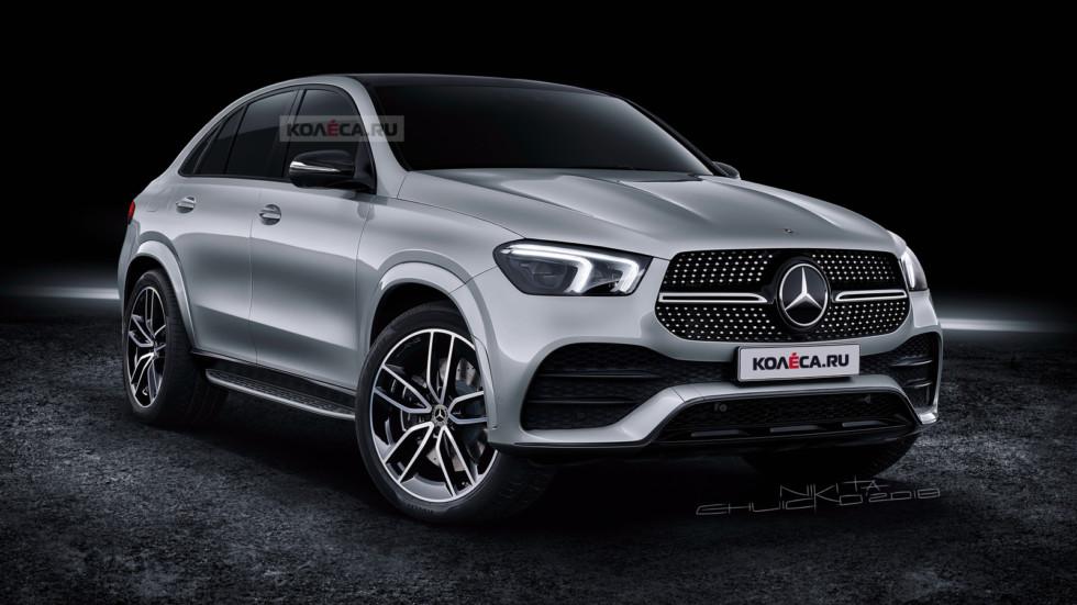 Новый Mercedes-Benz GLE Coupe: первые изображения