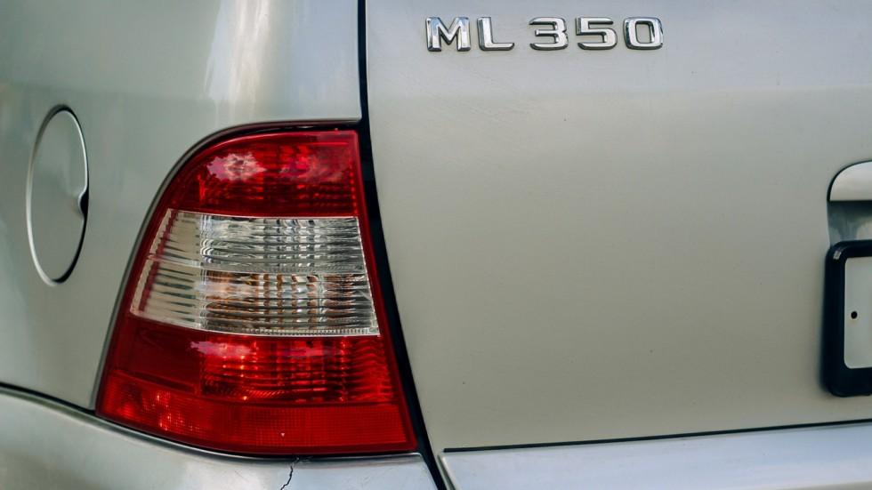 Mercedes-Benz ML W163 фонарь (2)